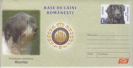 ROMANIA 2019:ROMANIAN SHEPHERD DOG Unused Postal Stationery Cover - Registered Shipping! Envoi Enregistre! - Cani