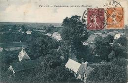 IVILLE Panorama, Pris Du Clocher - France