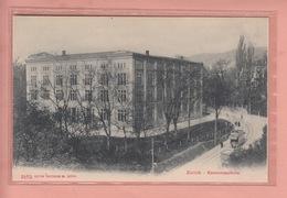 OUDE POSTKAART ZWITSERLAND  -  SCHWEIZ -    SUISSE -      1900'S - ZURICH - SCHULE - TRAM - ZH Zürich