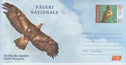 ROMANIA 2019:BIRDS - EAGLE & OTHER BIRD On Unused Postal Stationery Cover - Registered Shipping! Envoi Enregistre! - Aquile & Rapaci Diurni