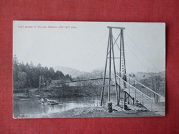 Foot Bridge At Dillard  520 Ft Long  Oregon    Ref 3363 - Estados Unidos