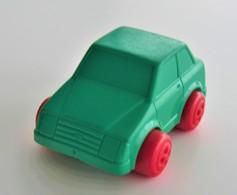 Vintage VINYL TOY CAR : Maker VIKINGPLAST SWEDEN - No. 4283 FORD ESCORT MK3 - 7.00cm - 19XX - Rubber - Voitures, Camions, Bus