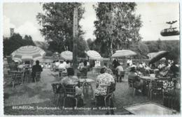 Brunssum - Schutterspark, Terras Roeivijver En Kabelbaan - Ontspanningsoord Schutterspark - 1964 - Brunssum