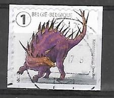 OCB Nr 4558 From B154 Dino Dinosaurus Fauna  ( MACA ) - Belgique