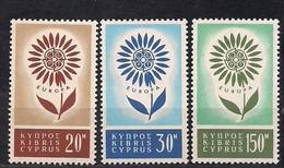Cept 1964 Chypre Cyprus Yvertn° 232-34 *** MNH Cote 60 Euro - Europa-CEPT