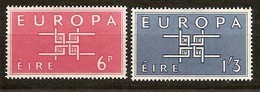 Irlande Ireland 1963 CEPT  Yvertn° 159-160 *** MNH Cote 7,00 Euro - 1949-... République D'Irlande