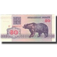 Billet, Bélarus, 50 Rublei, 1992, 1992, KM:7, SUP - Belarus