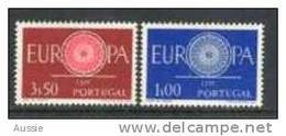 Cept 1960 Portugal Yvertn° 879-80 *** MNH Cote 5 Euro - Europa-CEPT