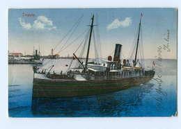 Y5742/ Trieste  Dampfer AK 1911 Italien - Ohne Zuordnung