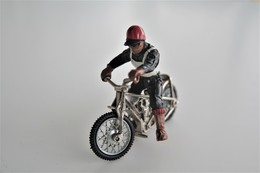 Britains Ltd, Deetail : SPEEDWAY MOTORCYCLE 9684 , Made In England, *** - Britains