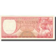 Billet, Surinam, 10 Gulden, 1963, 1963-09-01, KM:121, SUP+ - Surinam