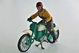 Britains Ltd, Deetail : GREEVES SCRAMBLER MOTORCYCLE  , Made In England, *** - Britains