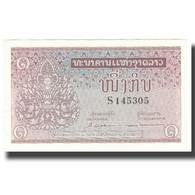 Billet, Lao, 1 Kip, Undated (1962), KM:8a, SUP - Laos
