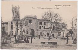 66 - VILLELONGUE -la- SALANQUE - La Place - France