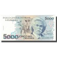 Billet, Brésil, 5000 Cruzeiros, Undated (1990-93), KM:232b, NEUF - Brazil