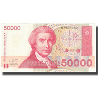 Billet, Croatie, 50,000 Dinara, 1993, 1993-05-30, KM:26a, SPL+ - Croatia