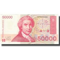 Billet, Croatie, 50,000 Dinara, 1993, 1993-05-30, KM:26a, SPL+ - Croatie