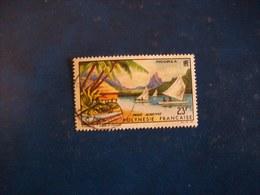 Polynésie: Timbre N° PA 9 (YT)  Oblitéré - Poste Aérienne - Oblitérés