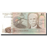 Billet, Brésil, 10 Cruzados, Undated (1966-1967), KM:209a, NEUF - Brazil