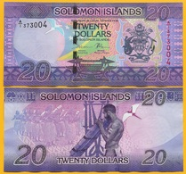 Solomon Islands 20 Dollars P-34 2017 UNC - Salomonseilanden