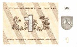 6589-2019    BILLET DE BANQUE LITUANIE - Lithuania