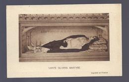 1926 SAINTE SILVANA MARTYRE GEBED TOT DE H. SYLVANA - Images Religieuses