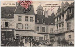 21 ARNAY-le-DUC - Le Marché Aux Légumes - Arnay Le Duc