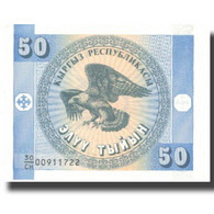 Billet, KYRGYZSTAN, 50 Tyiyn, Undated (1993), KM:3, SPL - Kyrgyzstan