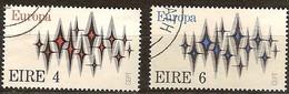 Cept 1972 Ierland Irlande Yvertnr. 278-79 (°) Oblitéré Used Cote 7 Euro - Europa-CEPT