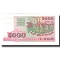 Billet, Bélarus, 5000 Rublei, 1998, 1998, KM:12, NEUF - Belarus