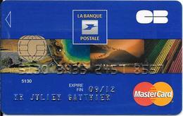 -CARTE+-PUCE-MAGNETIQUE-CB-BANQUE POSTALE-Exp-09/12-GEMALTO SP 04/10-TBE-RARE - France