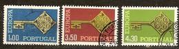 Cept 1968 Portugal Yvertnr. 1032-34 (°) Used Cote 5,25 Euro - 1968
