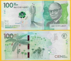 Colombia 100000 (100,000) Pesos P-463 2014 UNC - Colombia