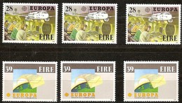 Cept 1988 Irlande Ireland Ierland Yvertn° 653-54 *** MNH 3 Séries Cote 27 Euro - Europa-CEPT
