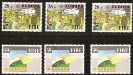 Cept 1988 Irlande Ireland Ierland Yvertn° 653-54 *** MNH 3 Séries Cote 27 Euro - 1949-... République D'Irlande