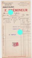 BRUXELLES 1935/ FREMINEUR / MECCANO / JOUETS - Unclassified