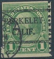 USA - Precancels, Preoblitére - BERKELEY, CALIF. - Etats-Unis