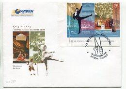 CUERPOS ESTABLES DEL TEATRO COLON. ARGENTINA 2005 SOBRE PRIMER DIA, ENVELOPE FDC - LILHU - Sin Clasificación