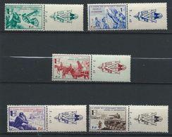 LVF YT 6-10 XX / MNH Avec Bandelette Et Coin Daté - Oorlogen