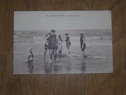 KNOCKE ZOUTE KNOKKE Sortie De Bain Animée België Belgique Carte Postale Postcard - Knokke
