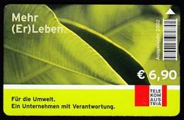 Austria 2002 / Telekom Austria Phonecard / Mehr (Er) Leben - Austria