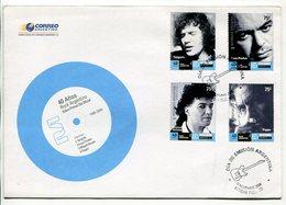 40 AÑOS ROCK ARGENTINO. ARGENTINA 2006 SOBRE PRIMER DIA, ENVELOPE FDC - LILHU - Música