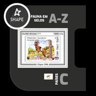 Guinea-Bissau 2019 Mih. 10591 (Bl.1836) Fauna. WWF Stamps On Stamps. Cyprus. Cyprus Mouflon MNH ** - Guinea-Bissau