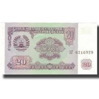 Billet, Tajikistan, 20 Rubles, 1994, 1994, KM:4a, SPL+ - Tadjikistan