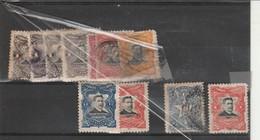 Accumulation Of 1910/11 El Salvador Used+ 2 Officials + 1 Due Few Toned Perfs - El Salvador
