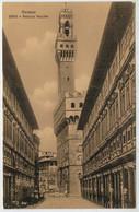 C.P.  PICCOLA      FIRENZE    UFFIZI  E  PALAZZO   VECCHIO        (NUOVA) - Firenze