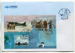 ANTARTIDA ARGENTINA, BASE GENERAL SAN MARTIN. ARGENTINA 2005 SOBRE PRIMER DIA, ENVELOPE FDC - LILHU - Polar Philately