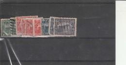 Accumulation Of 1916  Issue El Salvador Used Few Toned Perfs - El Salvador