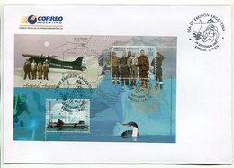ANTARTIDA ARGENTINA, BASE GENERAL SAN MARTIN. ARGENTINA 2005 SOBRE PRIMER DIA, ENVELOPE FDC - LILHU - Filatelia Polar