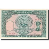 Billet, Birmanie, 100 Kyats, Undated (1958), KM:51a, TTB+ - Myanmar